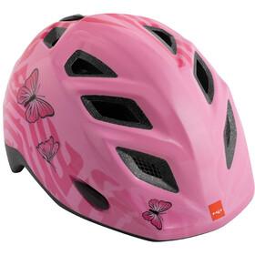MET Genio Helmet Kids, pink butterflies glossy